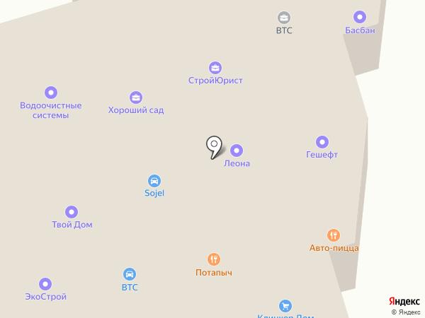 ВТС 24 на карте Дубового