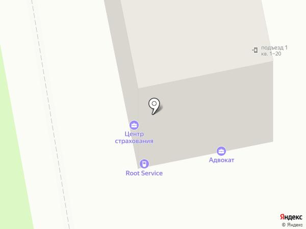 Rootservice на карте Белгорода