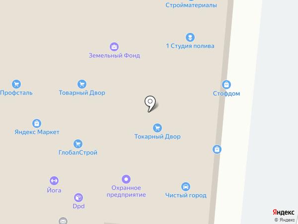 СтройКОМПЛЕКТ на карте Дубового