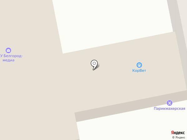 Веб-студия на карте Белгорода