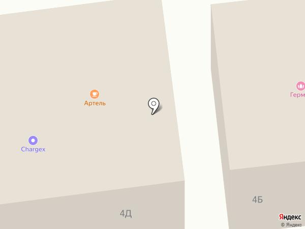 Инлавка на карте Белгорода
