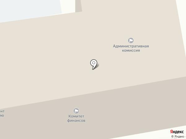 Управления муниципального заказа на карте Белгорода