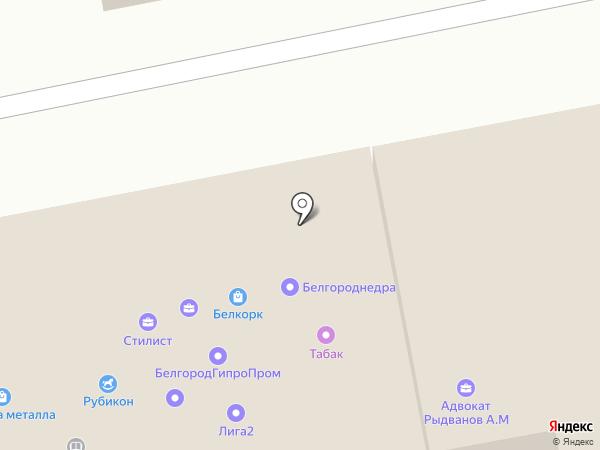 Ворота-Бел на карте Белгорода