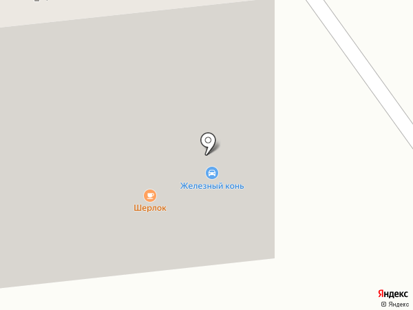Шерлок-lounge на карте Белгорода