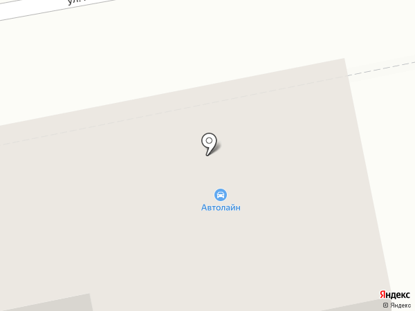 АВТОЛАЙН на карте Белгорода