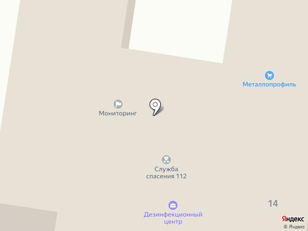 Единая дежурно-диспетчерская служба г. Белгорода на карте Белгорода