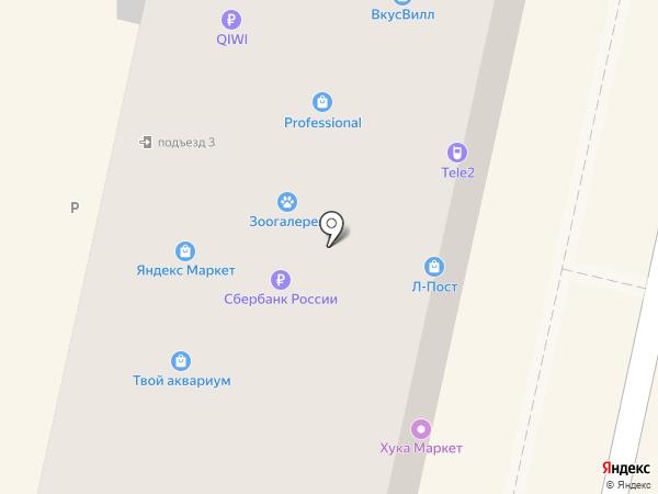 Воробьев А.И. на карте Белгорода