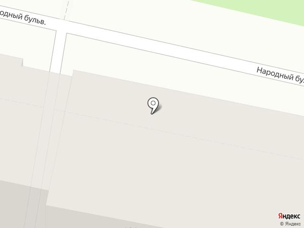 Муссон на карте Белгорода
