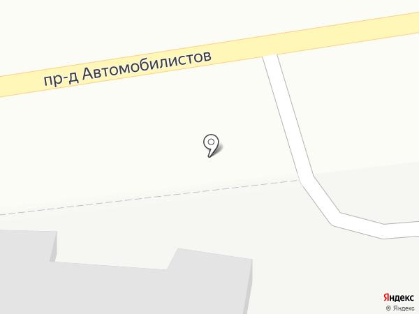 TOYOTA сервис на карте Белгорода