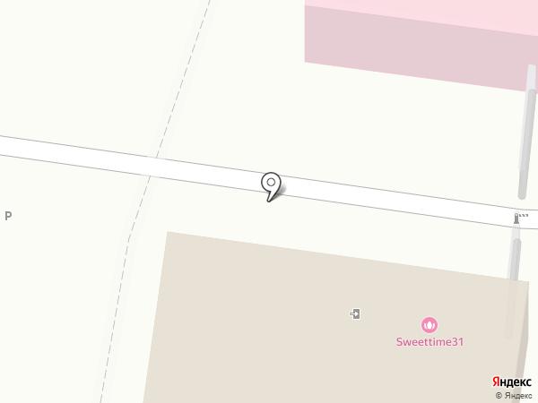 Дачи Белогорья на карте Белгорода