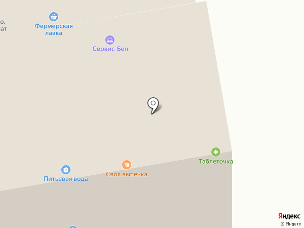 Рыболов на карте Белгорода