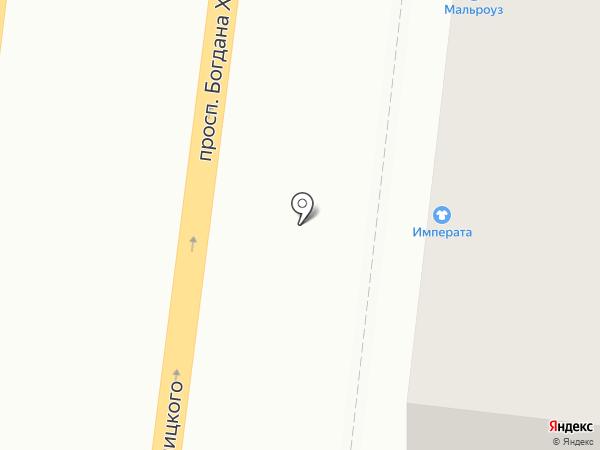 Императа на карте Белгорода