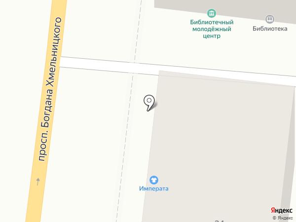 Отдел военного комиссариата Белгородской области по Западному округу г. Белгорода на карте Белгорода