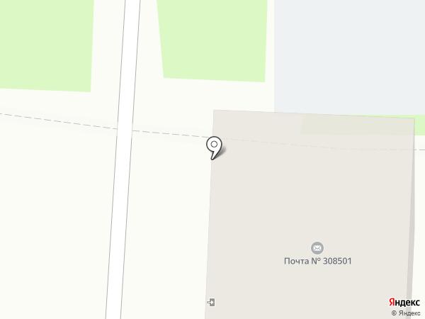 Почтовое отделение на карте Дубового