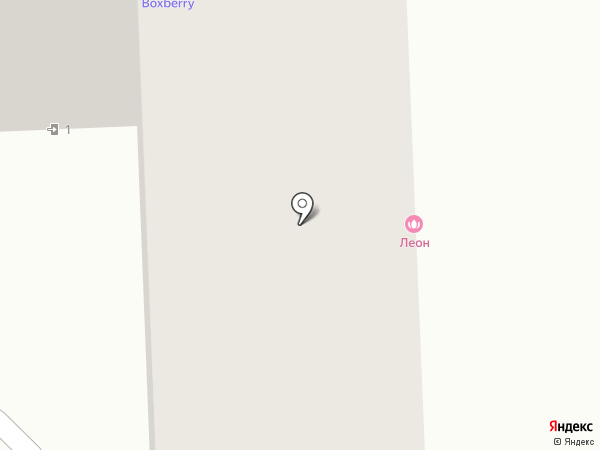 Леон на карте Дубового