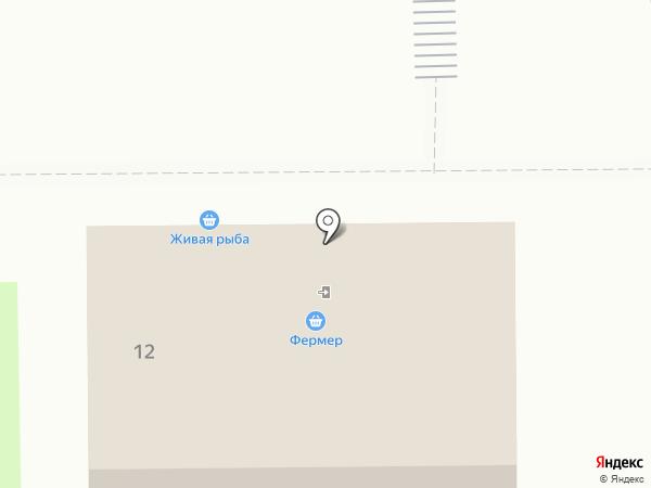 Фермер на карте Дубового