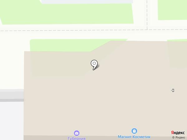 Магнит Косметик на карте Дубового