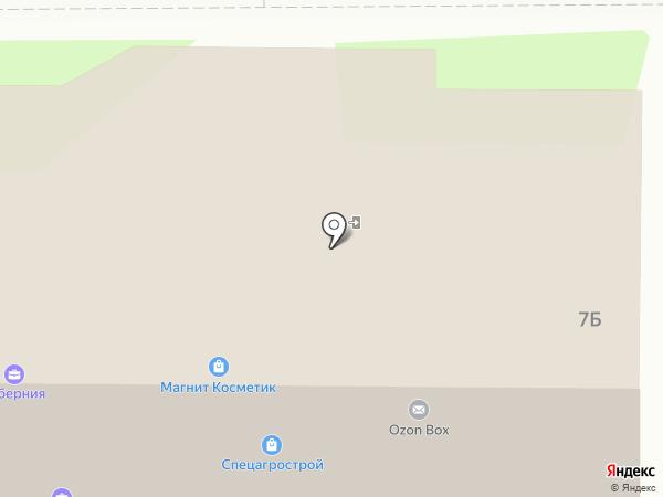 Электротовары и Метизы на карте Дубового