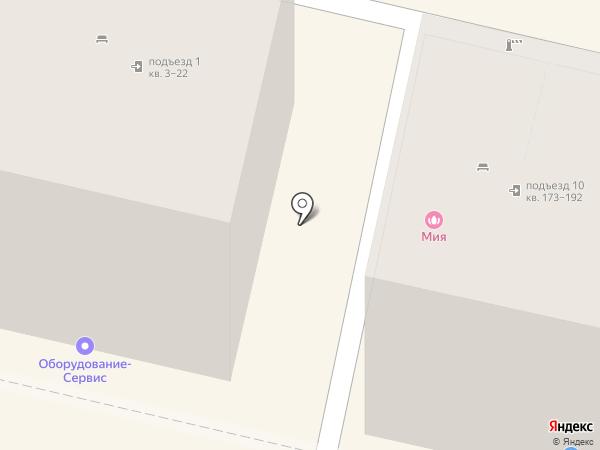 Мия на карте Белгорода