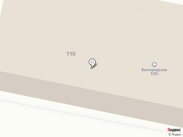 Белгородская торгово-промышленная палата на карте Белгорода