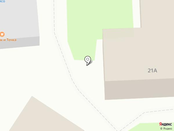Магазин разливного пива на карте Дубового
