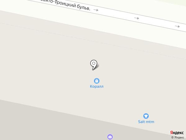 Банкомат, Ханты-Мансийский банк Открытие, ПАО на карте Белгорода