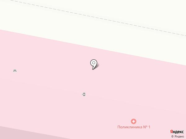 Городская поликлиника №1 на карте Белгорода
