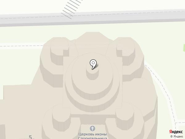Храм в честь иконы Божией Матери Спорительница хлебов на карте Дубового