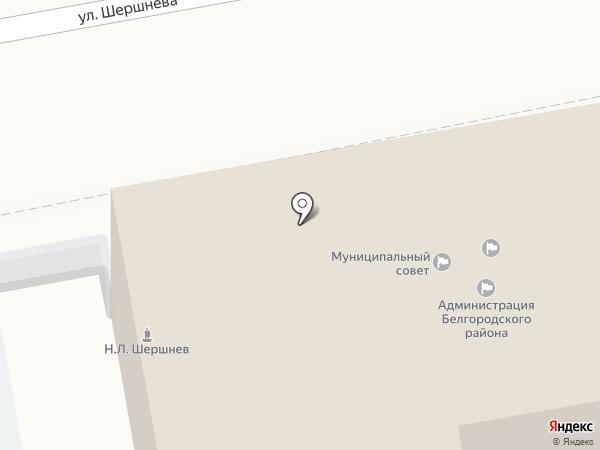 Муниципальный совет на карте Белгорода