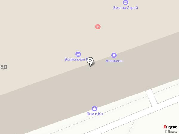 Мотивэа на карте Белгорода