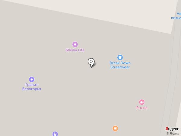 Pantheon на карте Белгорода