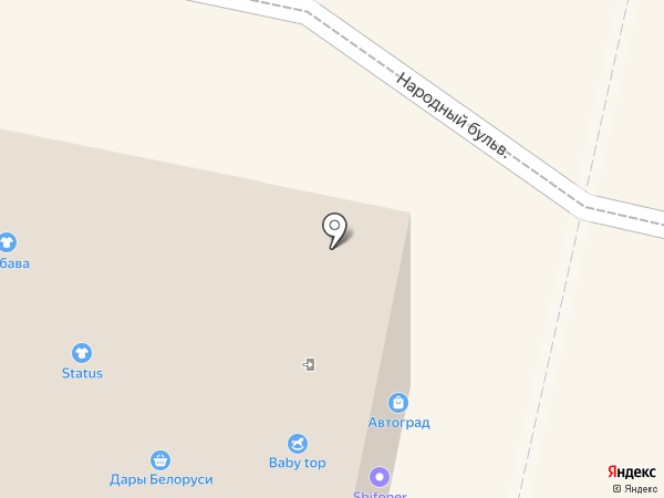 Кружева на карте Белгорода