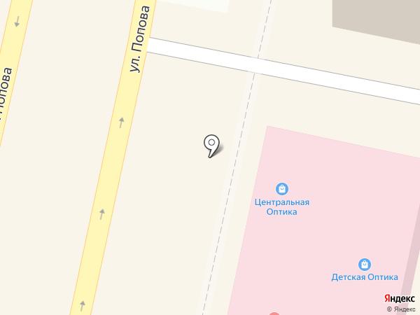 Ладушка на карте Белгорода