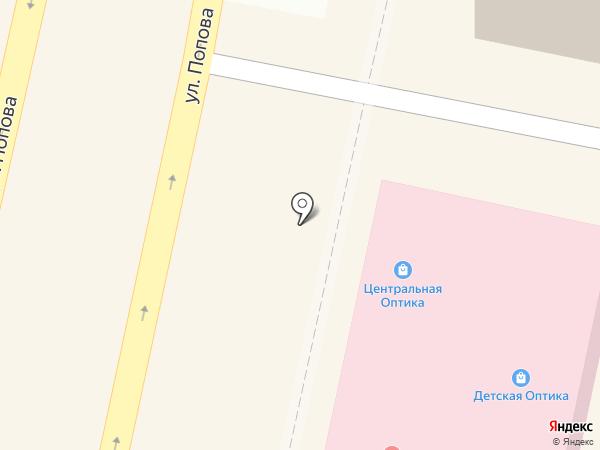 Уникум на карте Белгорода