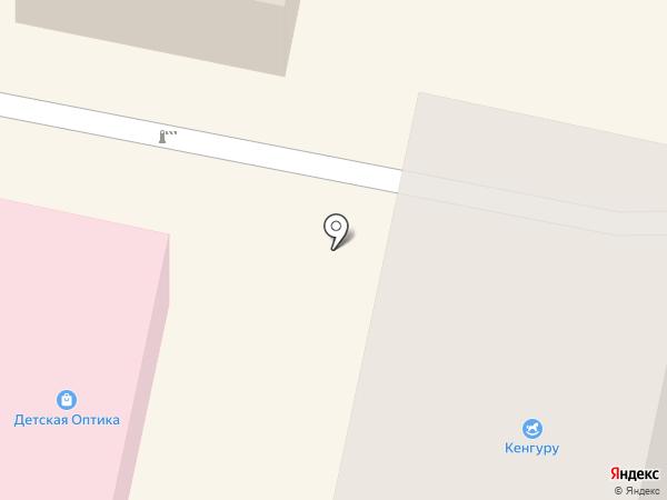 Лапочка на карте Белгорода