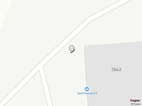 АвтоТехник31 на карте Белгорода