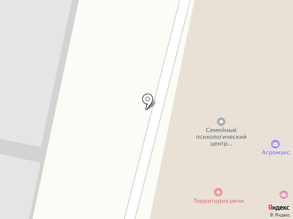 Астория на карте Белгорода