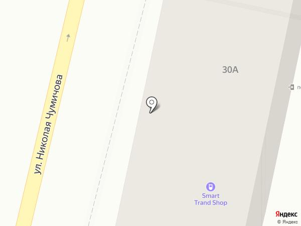 Делегат на карте Белгорода