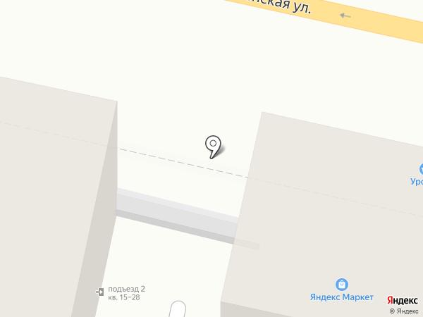 Лиа на карте Белгорода