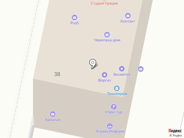 Фитнес Сити на карте Белгорода