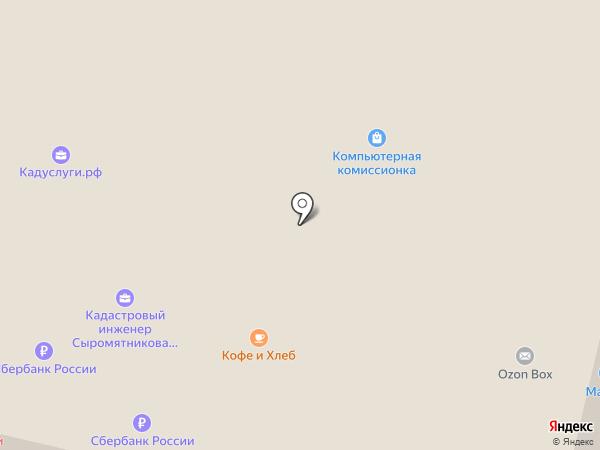 Перспектива на карте Белгорода