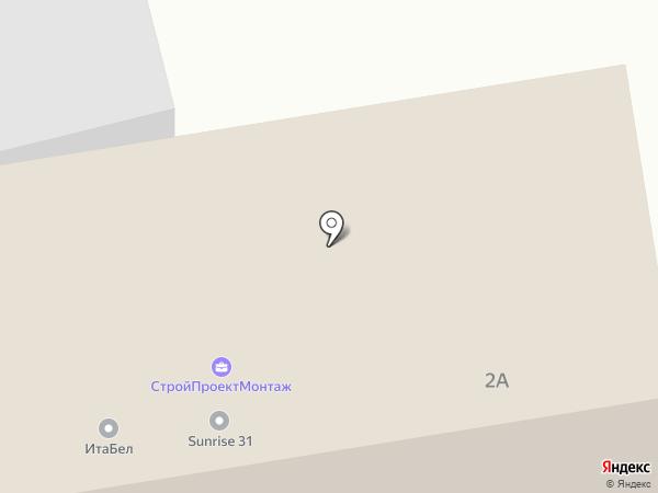 Белгородстройизыскания на карте Белгорода