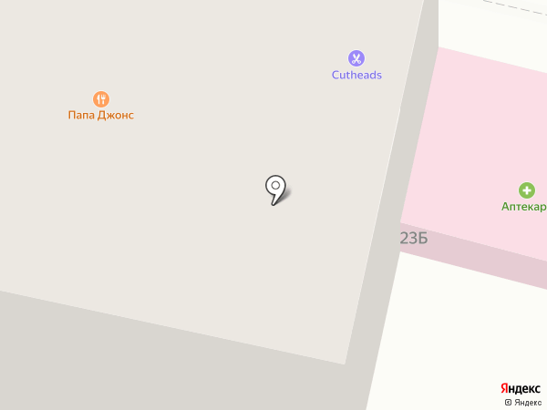 Фандорин на карте Белгорода