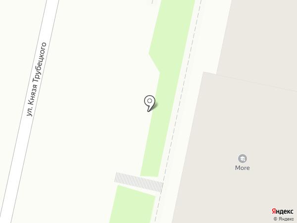 Амелия на карте Белгорода