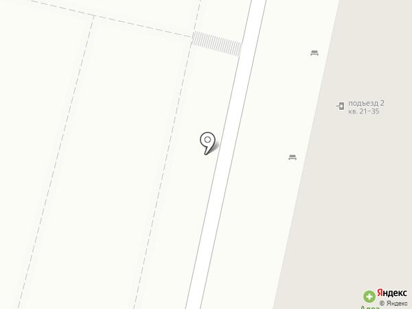Бекас на карте Белгорода