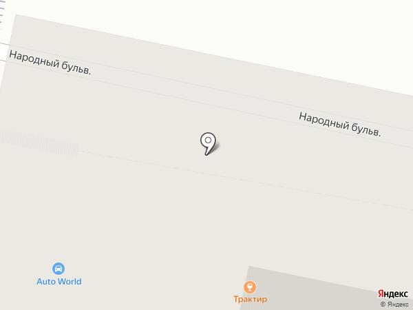 Трактир на карте Белгорода