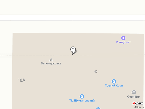 Управа района Новый на карте Белгорода