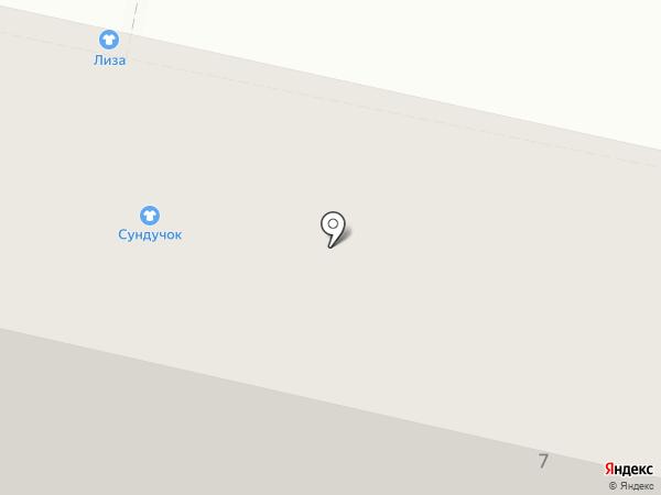 Магазин тканей и швейной фурнитуры на карте Белгорода