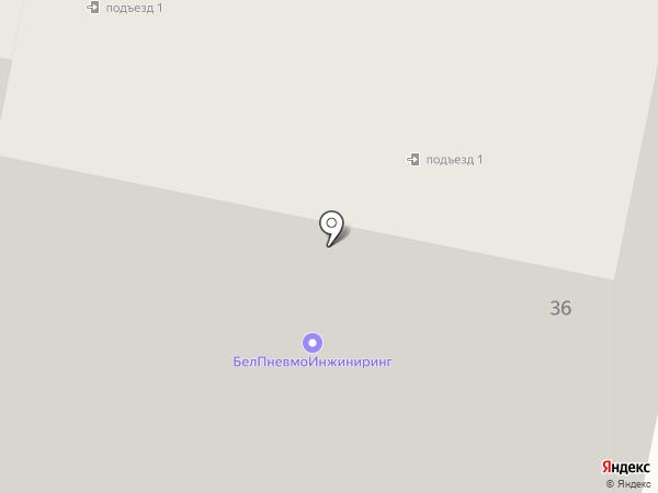 АСЦ на карте Белгорода