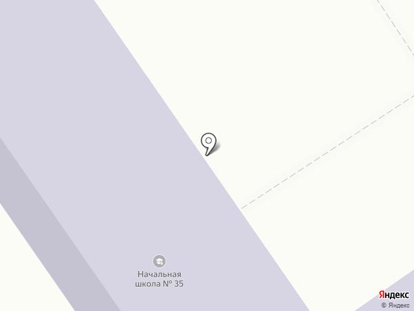 Средняя общеобразовательная школа №35 на карте Белгорода